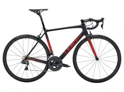 785 HUEZ RS ULTEGRA DI2 BLACK RED GLOSSY MAT A14